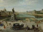 Cropped nicolas jean baptiste raguenet a view of paris from the pont neuf getty museum 2